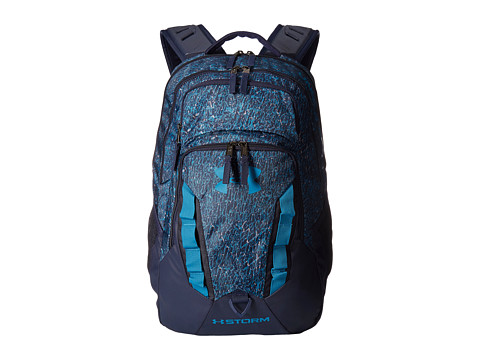 Genti Barbati Under Armour UA Recruit Backpack Midnight NavyBayou BlueBayou Blue