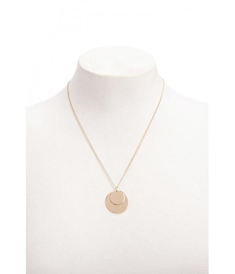 Bijuterii Femei Forever21 Dual Disc Necklace GOLD