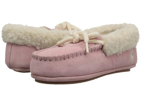 Incaltaminte Fete Polo Ralph Lauren Allister (ToddlerLittle Kid) Light Pink Microsuede