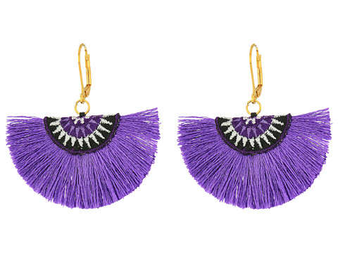 Bijuterii Femei Marc Jacobs Sophia Fan Earrings Lilac