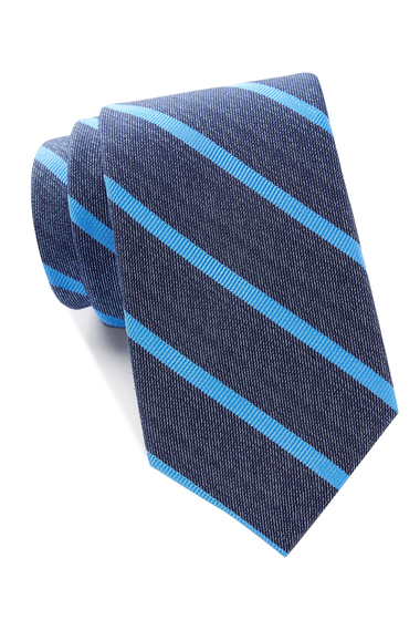 Accesorii Barbati Tommy Hilfiger Denim Single Stripe Tie BLUE