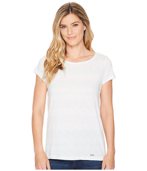 Imbracaminte Femei US Polo Assn Mixed Stripe Tie Back T-Shirt Like Glass