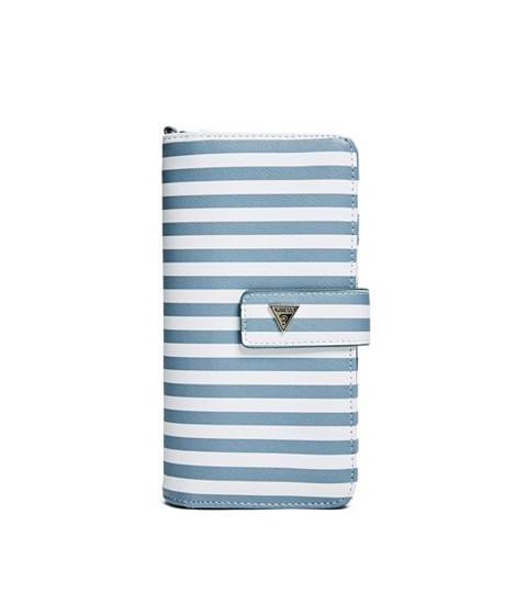 Accesorii Femei GUESS Hartley Travel Wristlet stripe