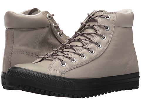 Incaltaminte Barbati Converse Chuck Taylorreg All Starreg Boot PC Tumbled Leather Hi MaltedMaltedBlack