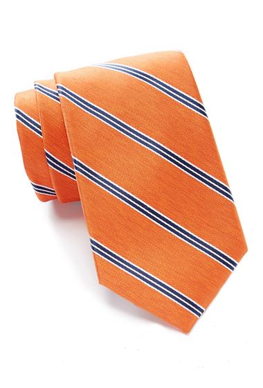Accesorii Barbati Nautica Colden Stripe Tie ORANGE