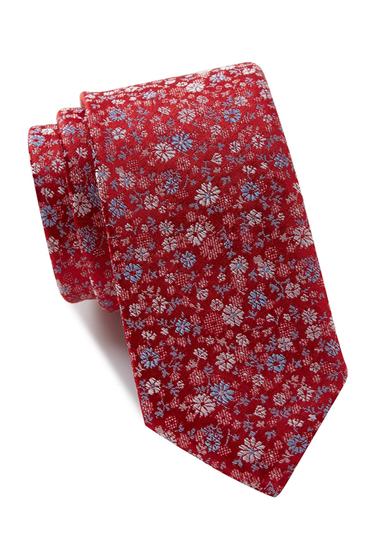 Accesorii Barbati 14th Union Depper Floral Tie RED