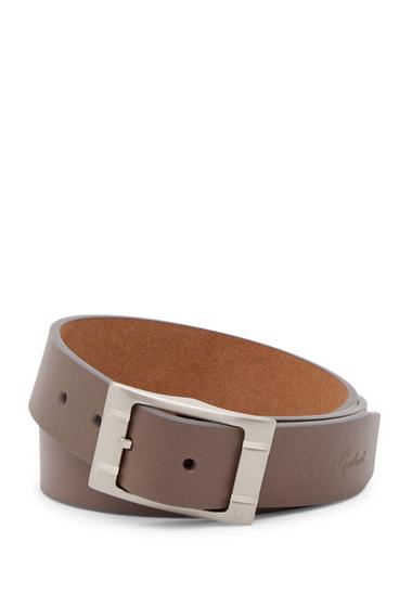 Accesorii Barbati Robert Graham Darrowsville Leather Belt TAUPE