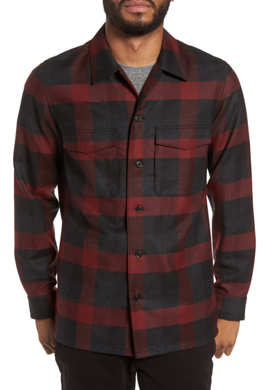 Imbracaminte Barbati Theory Mory NC Trim Fit Buffalo Check Shirt RADISH MLT