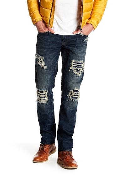 Imbracaminte Barbati True Religion Geno Straight Fit Jeans EEDD PATCHED RIDER