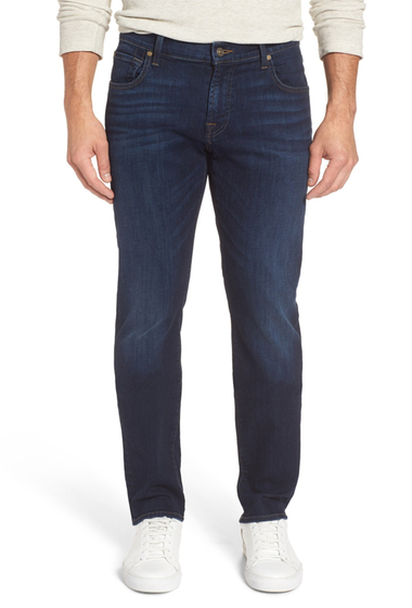 Imbracaminte Barbati 7 For All Mankind The Straight Slim Straight Leg Jeans VALLEY STR