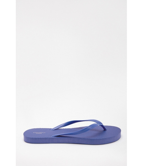 Incaltaminte Femei Forever21 Textured Flip Flops BLUE