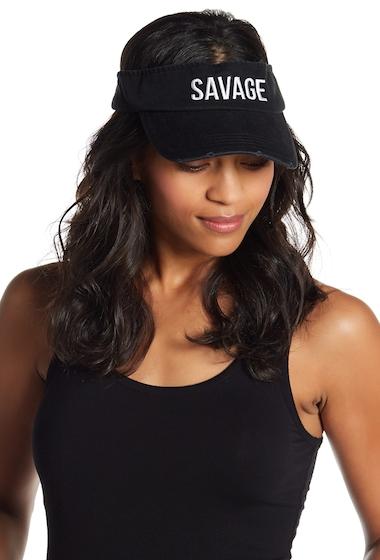 Accesorii Femei David Young Savage Visor BLACK