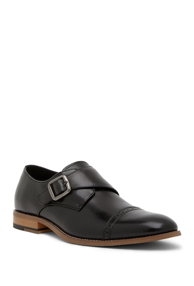 Incaltaminte Barbati Stacy Adams Desmond Monk Strap Loafer BLACK