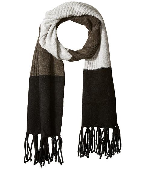 Accesorii Femei Vince Camuto Color Block Knit Scarf Black