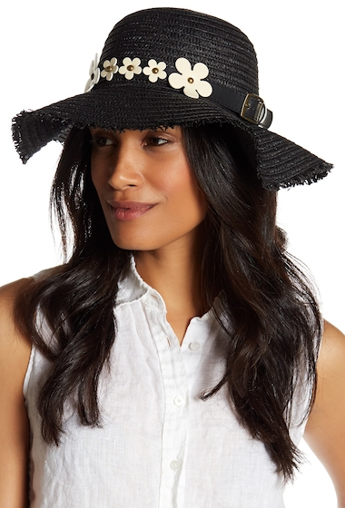 Accesorii Femei Collection Xiix Frayed Floppy Hat BLACK