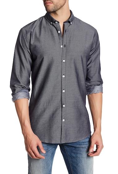 Imbracaminte Barbati Lindbergh Diamond Regular Fit Shirt NAVY