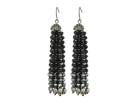 Bijuterii Femei LAUREN Ralph Lauren Pyrite Beaded Tassel Earrings HematiteJetPyrite