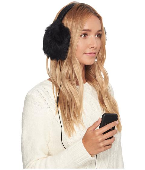 Accesorii Femei UGG Leopard Wired Earmuff Black