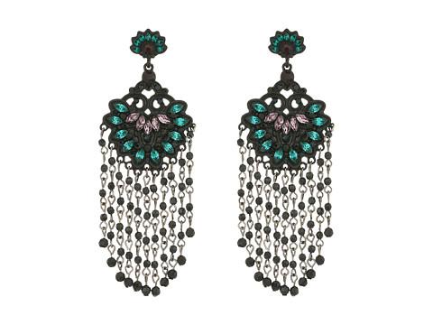 Bijuterii Femei Marc Jacobs Flower Statement Tassel Post Earrings Black