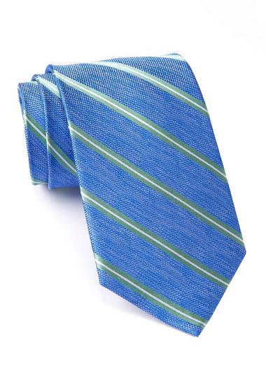 Accesorii Barbati Nautica Loret Silk Stripe Tie GREEN