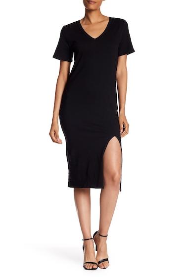 Imbracaminte Femei Socialite Midi T-Shirt Dress BLACK