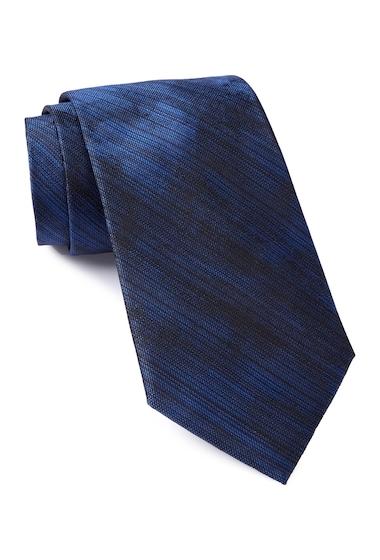 Accesorii Barbati Calvin Klein Watercolor Silk Tie NAVY