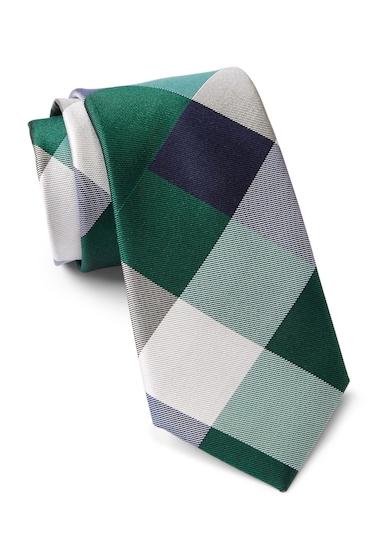 Accesorii Barbati Tommy Hilfiger Silk Huge Buffalo Tie GREEN