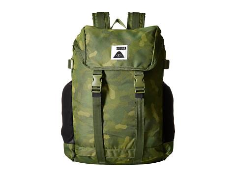 Genti Barbati Calvin Klein Rucksack 30 Backpack Green Furry Camo