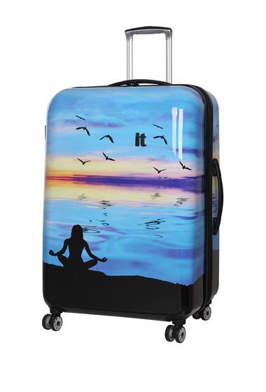 Genti Barbati IT Luggage 30 Virtuoso 8-Wheel Expandable Spinner Case ZEN LAKE PRINT
