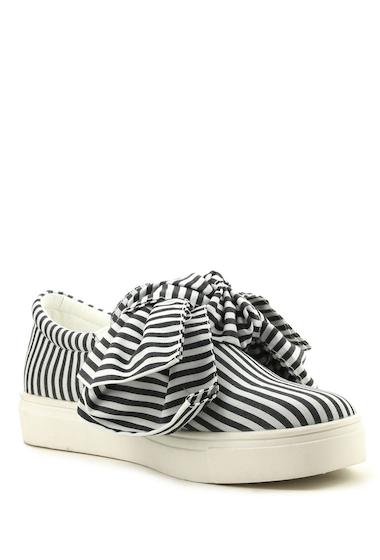 Incaltaminte Femei Cape Robbin Dolly Bow Sneaker BLACK