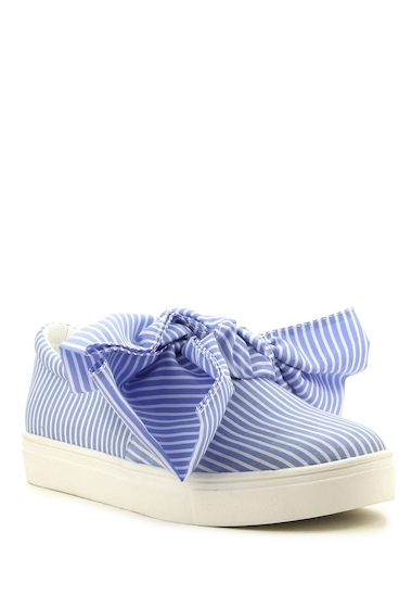 Incaltaminte Femei Cape Robbin Dolly Bow Sneaker BLUE