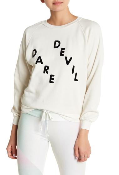 Imbracaminte Femei Wildfox Daredevil Sweatshirt VINTAGE LACE