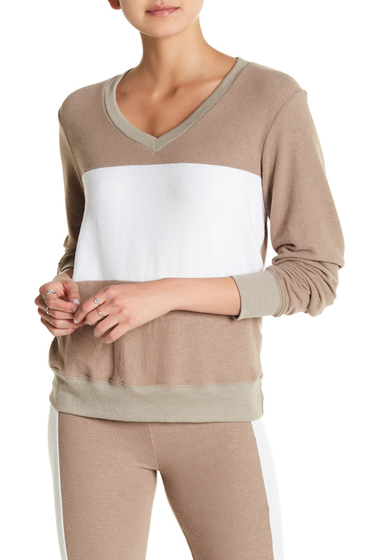 Imbracaminte Femei Wildfox Baggy Beach Sweatshirt UMBER GREY