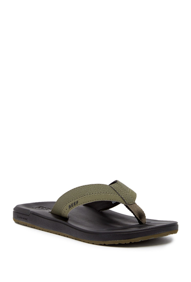 Incaltaminte Barbati Reef Contoured Cushion Flip Flop BLACK OLIV