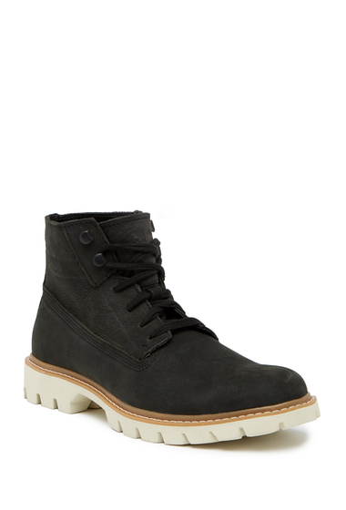 Incaltaminte Barbati CAT Footwear Basis Lace-Up Boot MENS BLACK