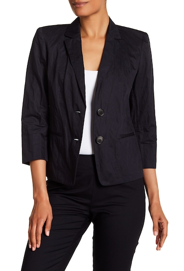 Imbracaminte Femei Lafayette 148 New York Daniela Textured Woven Jacket INK