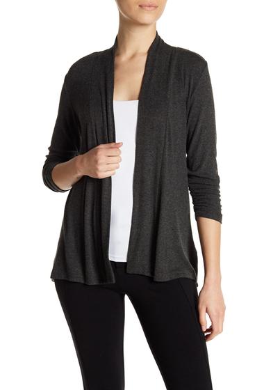 Imbracaminte Femei Bobeau Cinched Sleeve Cardigan Petite CHARCOAL