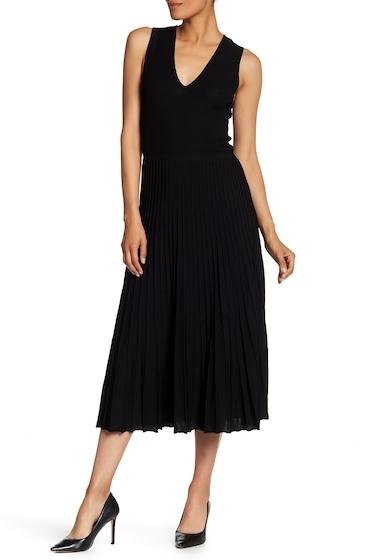 Imbracaminte Femei AK Anne Klein V-Neck Sweater Dress BLACK