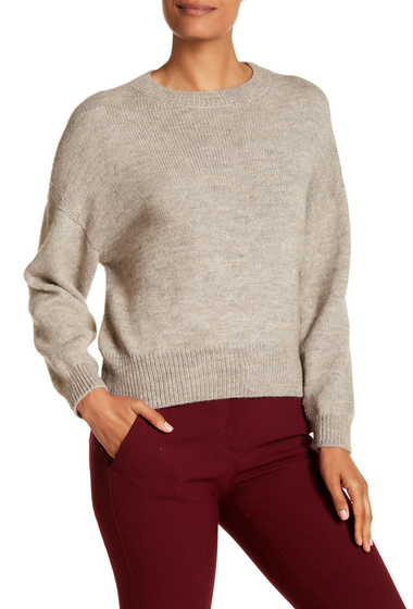 Imbracaminte Femei Lafayette 148 New York Daisy Knit Sweater OSPREY MELANGE