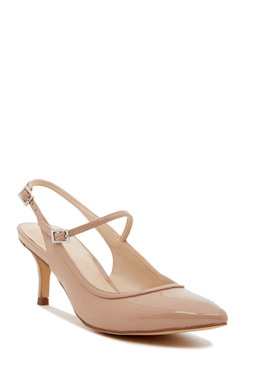 Incaltaminte Femei Nine West Majest Mary Jane Slingback Pump - Wide Width Available NATURAL SY