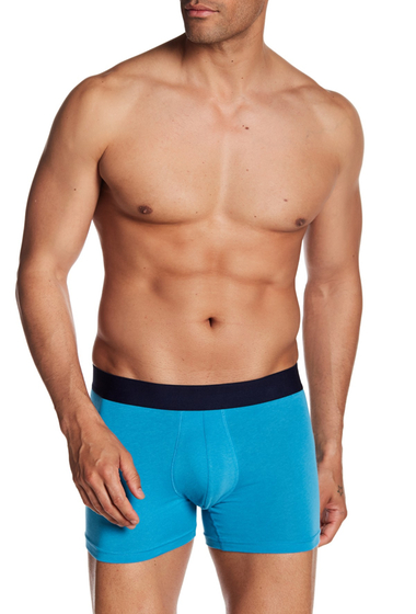 Imbracaminte Barbati 14th Union Stretch Boxer Brief BLUE HORIZON