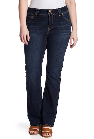 Imbracaminte Femei Lucky Brand Emma Boot Cut Jeans Plus Size GRISSOM