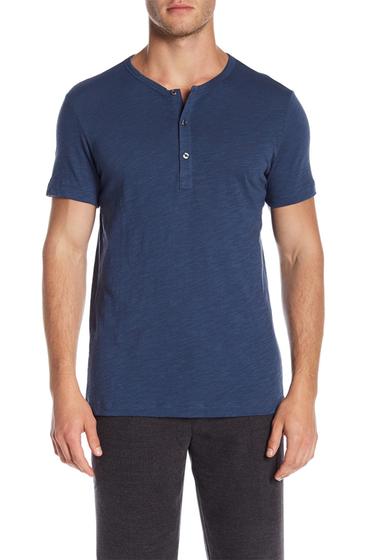 Imbracaminte Barbati Theory Strato Arlee Short Sleeve Shirt BLU