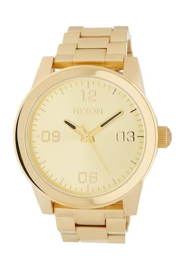 Ceasuri Femei Nixon Womens GI Bracelet Watch 36mm ALLGOLD