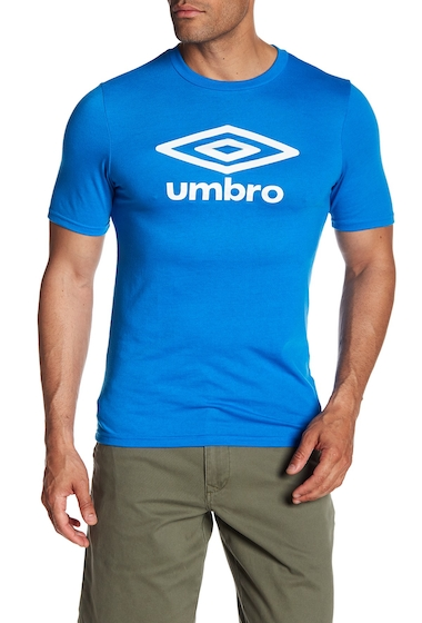 Imbracaminte Barbati Umbro Diamond Ultra Logo Tee ELECTRIC BLUE WHITE