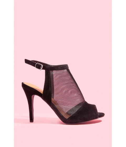 Incaltaminte Femei CheapChic Dont Mesh With Me Heel Black