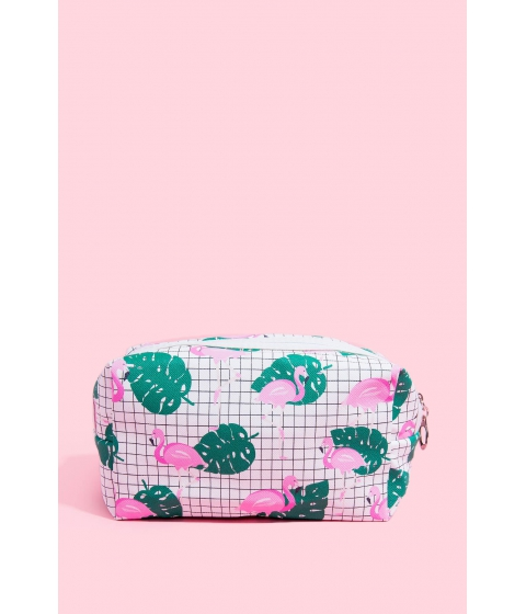 Genti Femei CheapChic Flamingo Cosmetic Bag Multi