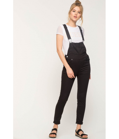 Imbracaminte Femei CheapChic Benny Button Up Overalls Black