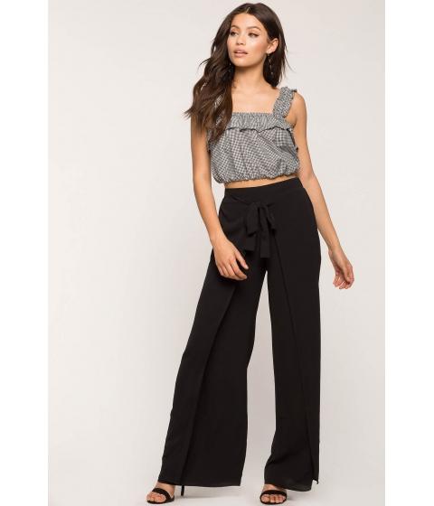 Imbracaminte Femei CheapChic Tie Front Wrap Pants Black