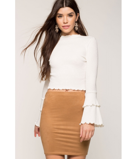 Imbracaminte Femei CheapChic Simply Suede Mini Skirt Mocha